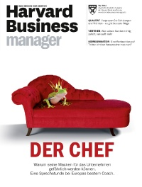 Harvard Business Manager -  aktuelle Ausgabe