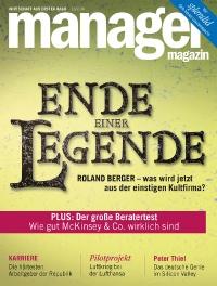 Cover 200px JPG - manager magazin -  aktuelle Ausgabe